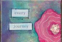creating an art journal / by Mary Stocum