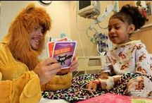 Hollywood Cares for Kids / Children's Hospital Los Angeles has enjoyed continued support from our neighbors in Hollywood. Through special visits, events, gifts, readings and more, laughter and smiles are regularly delivered to our patients by some of the biggest stars in film, TV, sports and music. http://www.CHLA.org/Celebs / by Children's Hospital Los Angeles