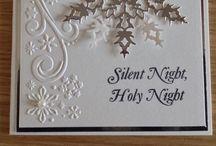 Inspiration for Christmas Cards / Vánoční přáníčka - inspirace