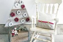 For the Holidays / Here are some great holiday ideas for using General Finishes Milk Paint, Water Based Stains, Oil Based Stains, Dye Stains, and other Finishing Products.