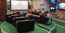 Man Caves & Basements / Create the perfect spot to watch the game or just hangout!