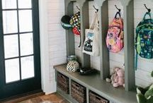 Laundry & Mud Rooms / Just because it's a place for dirty clothes and muddy shoes, doesn't mean it can't be beautifully designed and functional!  We love these bonus spaces.