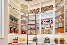 Closets & Pantries / These spaces sometimes make or break a home.  Get the most of of your closest and pantries with these space saving and organizing tips.