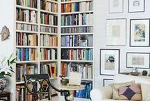 Dens & Libraries / Relaxing spaces to curl up with a book.