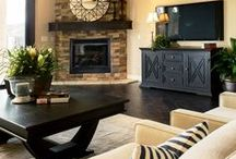 Living & Great Rooms / This room speaks volumes to your personal style.  Make is beautiful!