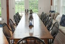 Delicious Dining Rooms / Just imagine gathering with your friends and family in one of these stunning dining rooms!