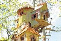 Talo puussa, puu talossa