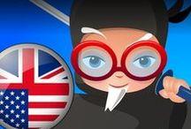 Professor Ninja English / Slash to learn English
