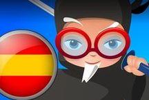 Professor Ninja Spanish / Slash to learn Spanish