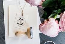 Wedding • Ideen • Einladungen / Wedding ideas, wedding stamps & paper goods, Einladungen, Hochzeitsstempel