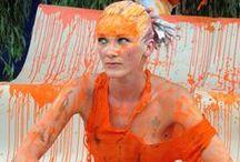 Taniec żywych obrazów / W niedzielę 23 sierpnia 2015 r. odbyło się unikalne wydarzenie w Mrągowie - INSTALACJA - TANIEC ŻYWYCH OBRAZÓW / PRZEKROCZ GRANICE WYOBRAŹNI...  Podczas widowiska zaistniały razem sztuka ciała, plastyka, ruch, muzyka. Instalacja była formą happeningu, w którym wzięli udział tancerze i plastycy grupy Art Color Ballet z Krakowa oraz uczestnicy warsztatów Body Art a zgromadzona publiczność miała okazję doświadczyć powstania nowej formy przestrzeni.