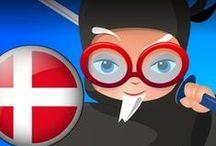 Professor Ninja Danish / Slash to learn Danish