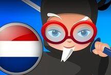 Professor Ninja Dutch / Slash to learn Dutch
