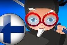 Profesor Ninja Finnish / Slash to learn Finnish