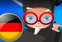 Professor Ninja German / Slash to learn German