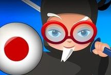 Professor Ninja Japanese / Slash to learn Japanese