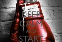 Boxing inspiration / Gotta build the guns.....