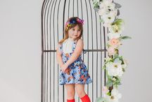 Spring Baby Girl Fashion | Handmade girls clothing | spring and summer kids clothes / Find some beautiful handmade clothing for your little lady that is perfect for spring photo shoots, everyday fun and family vacations.