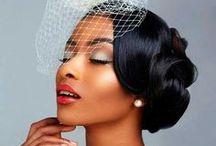 Mariée peau noire / Maquillage, robe ou coiffure pour une jolie Mariée à la peau noire ou métis.