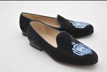 United States Naval Academy Shoes / United States Naval Academy Shoes logo shoes for men and women. JP Crickets is the go-to men's and women's shoe that combines an Italian-made loafer with the comfort of a classic velvet slipper. The relaxed style shoe boasts an embroidered college logo shoe on suede, velvet, or linen with an all leather sole. Tassel loafers, monogrammed logos, and custom designed shoes also available. Italian-made loafers embroidered with college logos or monograms on suede, linen, or velvet. @navalacademy  / by JP Crickets University and Collection Loafers