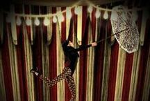 Under the Big Top / carnival | circus / by Bella Umbrella