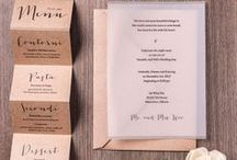 Invitations / Faire-part / by Clothilde Fédou