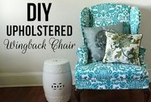 Upholstery Techniques / by Melissa Davis