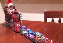 Elf On The Shelf / Elf on the Shelf ideas to do this Christmas.  / by Kristi Corrigan