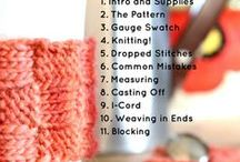 Knitting Patterns and Courses / My favorite knitting patterns and online courses - ones I love and ones I need to try! / by Kristin Jones