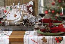 Tischdekorationen Weihnachten / Bei unseren Fotoshootings haben wir ja (leider) immer zu wenig Zeit, um eine aufwändige Deko zu basteln. Also sind alle unsere Vorschläge aus der Kategorie 'schnell gemacht...'