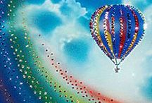 Full of Hot Air / Welcome to our board! Just for fun, all different hot air balloons. Pins also with scenery's are included. Thank you all for making our board outstanding and beautiful.