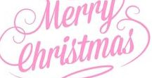 A Merry Pink Christmas / Welcome. This board is collaborated between Suzie and Shelly. Please delete any writing if possible. Happy Pink Christmas pinning.