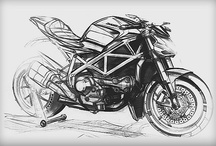 Transport Sketches / Transport Sketching inspiration.