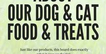 About our dog and cat foods / All about our naturally hypoallergenic dog food, cat food and treats. Our range, ingredients and other useful information.