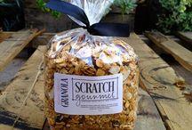 Scratch Gourmet Granolas / Homemade granolas / by Scratch Gourmet