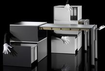 @cetera Ausziehtisch / @cetera  .. das Building Block System for the iGeneration   Möbel für kleine Räume. Hands-on Design! Ein versteckter Ausziehtisch schafft mit einem Handgriff zusätzlichen Freiraum überall Zuhause, in Büro, Schüle, Geschäft…@cetera!  Hands-on Design! With one hand-grip, a concealed table can be extended for extra space in every room of the home, office, school, retail shop…@cetera! MADE IN GERMANY!