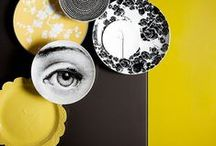 Yellow & Gray Decor