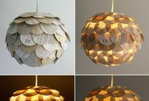 Home Lighting / Creative and custom ways to decorate and illuminate your home with some great lamps.