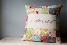 A Personalized Pillow to Cuddle / Personalized pillows and cushions to make any room that much more unique.