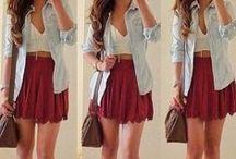 Clothes. / by Aurora🌹