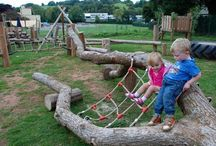 Outdoor spaces for childcare
