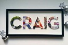 Inventive Custom Wall Hangings / Our curated collections of custom, beautiful things you can hang on your wall.