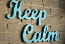 Custom Keep Calm Signs