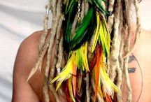 Spring dreadlock styles / Dread styles for the season of spring, pinned by Jade of airria.co.uk