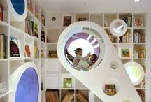 Children's fun - play rooms, climbing frames, tree houses / Keep your children amused at home with these creative ideas.