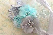 Flower power / Ribbons, fabrics n more