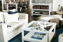 Favoriter / Plock av inredningsfavoriter. New england inredning. Colonial style. Blue and white.
