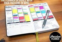 My planner / Kalender, noter og opgaver i et.. organiseringstips og inspiration