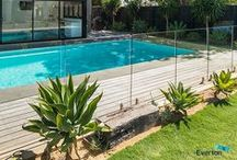Glass Pool Fencing / Beautiful Frameless, Semi-Frameless and Quikwire Pool Fencing from Everton.