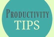 Productivity Tips / A resource of increasing productivity, A Pinterest board showcasing all sorts of productive topics including: overcoming procrastination, productivity hacks, productivity tools, getting things done, productivity tips, productivity apps, productivity quotes, GTD, productivity books and more...